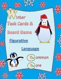 figurative language task cards / board game test prep