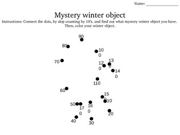 Connect the dots (Skip counting)