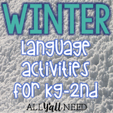 Winter for Speech & Language Therapy - Younger Elementary