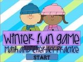 Winter fun game - FREEBIE