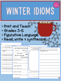 ~DISTANCE LEARNING~ Winter idioms