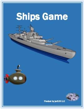 Winter in English Battleship game