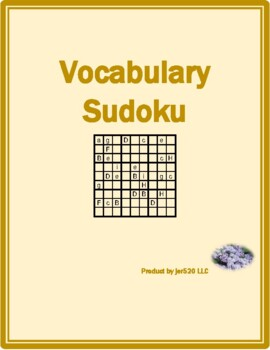 Winter in English Sudoku