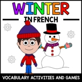 Winter Activities and Games in French - Hiver en Français