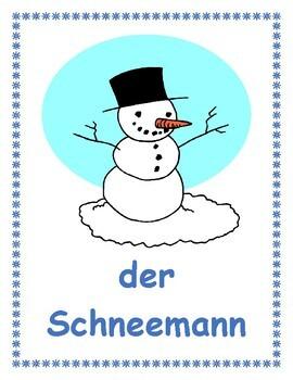 Winter in German Posters