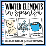 Winter in Spanish Flashcards and Booklet - El Invierno