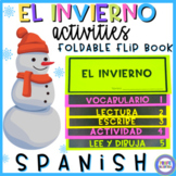 Winter in Spanish Flip Book - El invierno
