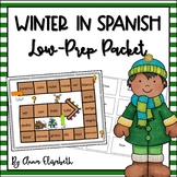 Winter in Spanish LOW PREP Packet