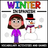 Winter Activities and Games in Spanish - Actividades de Invierno