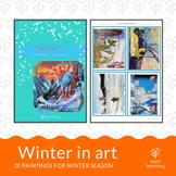 Winter in art - 20 paintings for winter season