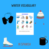 Winter in spanish /vocabulario invierno
