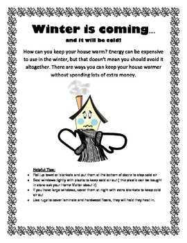 Winter is Coming-Bilingual Handout for Parents