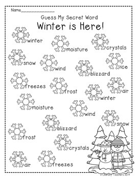 Winter is Here: CCSS Aligned Leveled Reading Passages and Activities