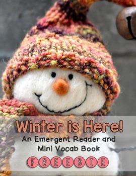 Winter is Here! Emergent Reader {FREEBIE}