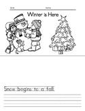 Winter is Here (K-Grade 1)