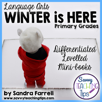 Winter is Here Language Arts Lesson