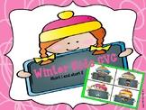 Winter kids CVC  (short i and short e)