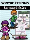 Winter {l'hiver} French Resource Catalog ~ en français