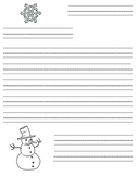 Winter letter template