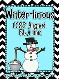 Winter-licious Unit-10 CCSS Aligned Literacy Centers
