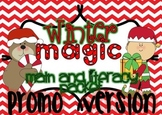 Winter magic - math and literacy packet PROMO version