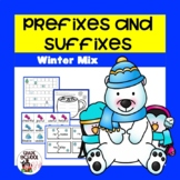Prefixes and Suffixes Winter Mix