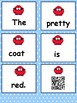 Winter mixed-up Sentences with QR codes