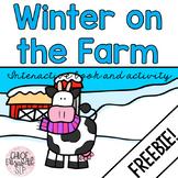 Winter on the Farm Interactive Book FREEBIE!