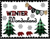 Winter or Christmas Bulletin Board