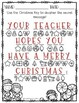Winter or Christmas Secret Message Puzzles
