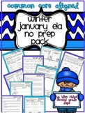 Winter or January No Prep ELA Pack