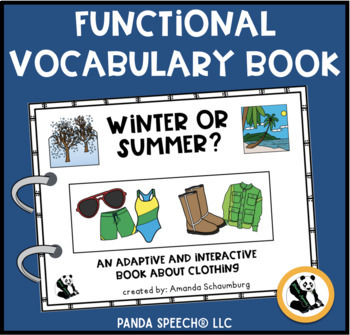 Seasonal Clothing?  An Adaptive and Interactive Book About Clothing