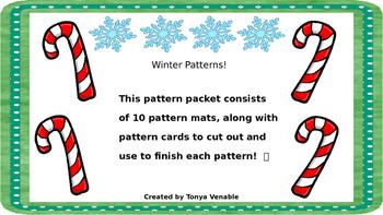 Winter patterns!
