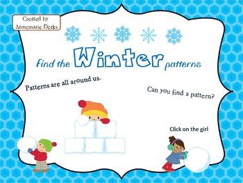 Winter patterns Powerpoint