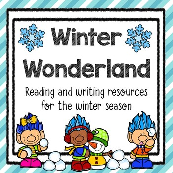 Winter reading and writing resources