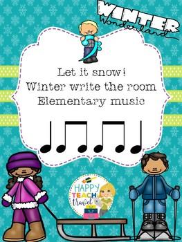 Winter rhythms - write the room