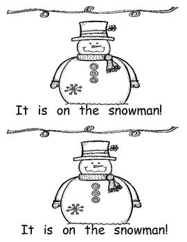 Winter sight word reader