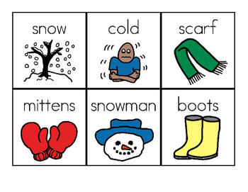Winter themed ABC (Alphabetical) Order