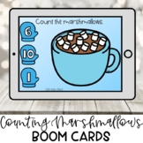 Winter Theme Counting Boom Cards for Preschool