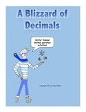 Winter themed Decimal Activities (All Operations)