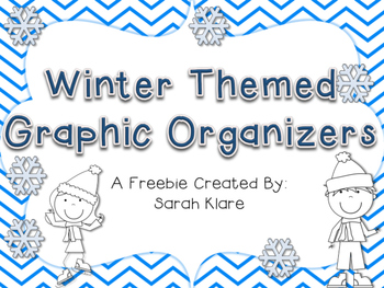 Winter themed Graphic Organizers