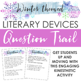 Winter-themed Literary Devices Question Trail: Engaging, K