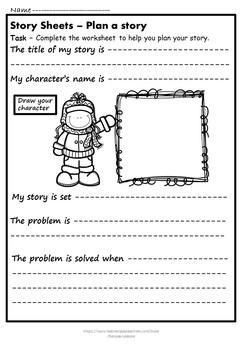 Write a story (No prep)