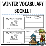 Winter Vocabulary Booklet