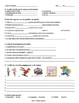Winter vocabulary practice worksheets (Asi se Dice level 1, Ch 7)