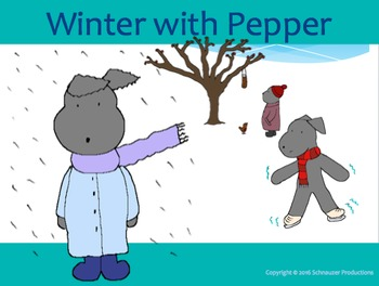 Winter with Pepper in English