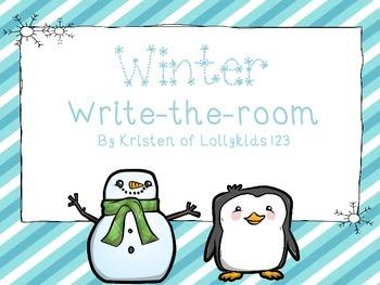 Winter write-the-room