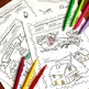 December Holidays Figurative Language Activities, Coloring Sheets for Christmas