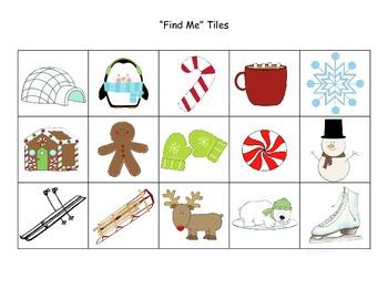 Winter Game - Winter & Christmas I Spy