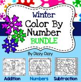 Winter Color By Number Bundle